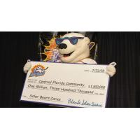 Solar Bears Celebrate Giving back to the Central Florida Community