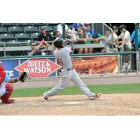 Jason Martinson Homers for the Syracuse Chiefs