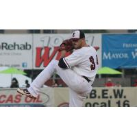 Evansville Otters Pitcher Will Oliver