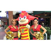 Fort Lauderdale Strikers Chearleaders and Mascot