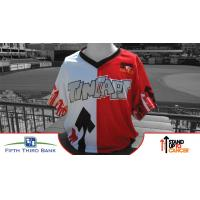 Fort Wayne TinCaps Stand up to Cancer Jersey