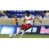Michael Bustamante with the New York Red Bulls