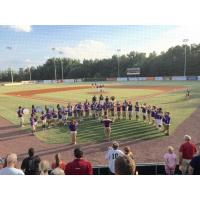 Batesburg-Leesville's Marching Band at the Lexington County Blowfish Game