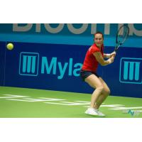 Madison Brengle of the Washington Kastles in the WTT Finals