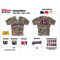 Williamsport Crosscutters Pet Jersey