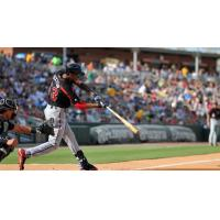 Byron Buxton with the Rochester Red Wings