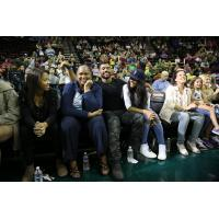 Seattle Seahawks QB Russell Wilson and Ciara at Seattle Storm Game