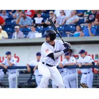 Jesse Winker of the Pensacola Blue Wahoos