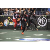 Brandon Thompkins of the Orlando Predators
