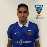 OC Blues FC Forward David Estrada