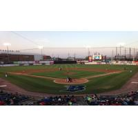 The Ballpark at Harbor Yard, Home of the Bridgeport Bluefish