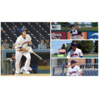 Texas League Player of the Year Chad Pinder and Midland RockHounds All-Stars