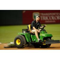 El Paso Chihuahuas Head Groundskeeper Andy Beggs