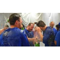 Midland RockHounds Celebrate Playoff Berth