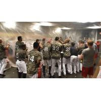 Arkansas Travelers Celebrate Texas League North Second Half Title