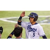 Luis Veras of the Hillsboro Hops