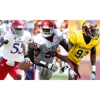 Spokane Shock Signees Michael Reynolds, Ronnell Lewis and Ben Perry