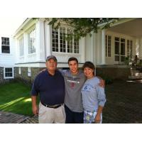 Becky, Phil and son Boomer Dangel, New Owners of the Forest City Owls