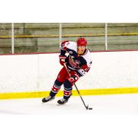 Forward Guy Roby with the Aston Rebels