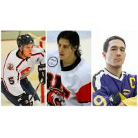 Allen Americans Signees Jacob Poe, Michael Colavecchia and Tyler Stothers