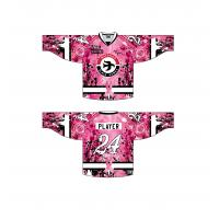 Waterloo Black Hawks' 2015 Breast Cancer Awareness Jerseys