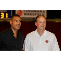 New Westchester Knicks Head Coach Mike Miller (Right)