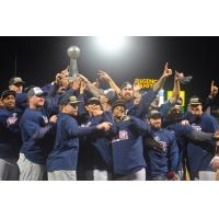 Somerset Patriots Celebrate 2015 Atlantic League Championship