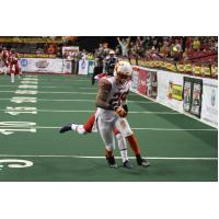 DB Mike McMillan in Action with the Spokane Shock