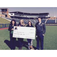 West Virginia Black Bears Present Check to Homeward Bound WV