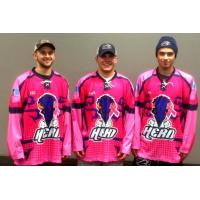 Sioux Falls Stampede Pink Jerseys