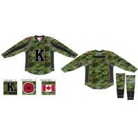 Kingston Frontenacs Special Canadian Forces Uniforms
