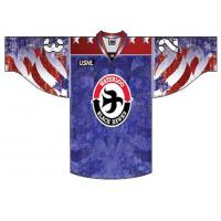 Waterloo Black Hawks Patriotic Jersey