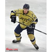 Nils Rygaard of the Janesville Jets in Action
