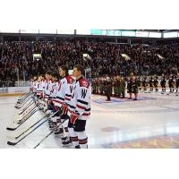 Kitchener Rangers Welcome Canadian Military