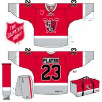 Grand Rapids Griffins Red Kettle Jersey