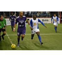 Dallas Sidekicks Battle the Missouri Comets