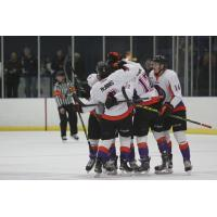 Youngstown Phantoms Celebrate a Goal