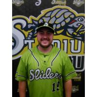 Springfield Sliders Field Manager Zac Charbonneau