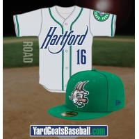 Hartford Yard Goats Road Uniforms