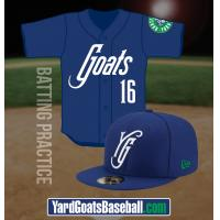 Hartford Yard Goats Batting Practice Uniforms
