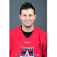 Forward/Defenseman Kyle Follmer with the Allen Americans