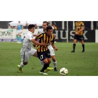 Ricky Garbanzo of the Charleston Battery