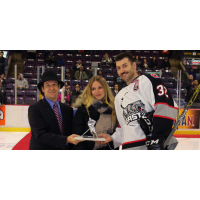 Cal Wild Saluted by the Brampton Beast