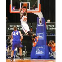 Westchester Knicks Forward DaJuan Summers Skies for a Dunk