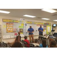 Tampa Bay Storm Players at Great American Teach-In
