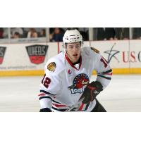Left Winger Kyle Beach with the Rockford IceHogs