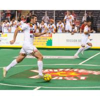 Andrew Hoxie of the Baltimore Blast
