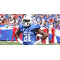 Defensive Back Nate Willis with the University of Kentucky
