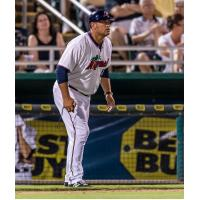 Fort Myers Miracle Manager Jeff Smith Watches the Action