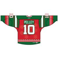 Albany Devils Holiday Jersey Back